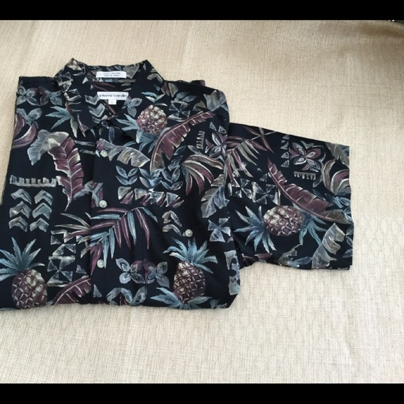 0c77b5091 Pierre Cardin Shirts | Mens Casual Hawaiian Shirt 2 For 25 | Poshmark